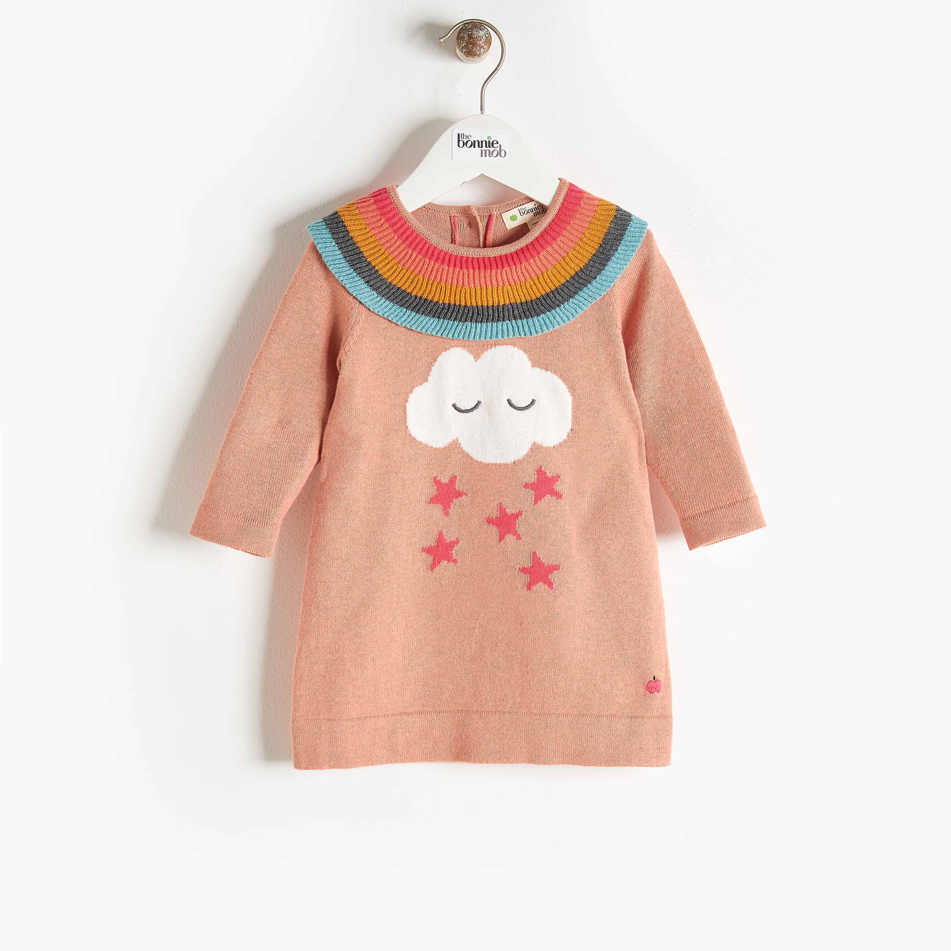 Bonnie Mob Grace Rainbow Frill Dress