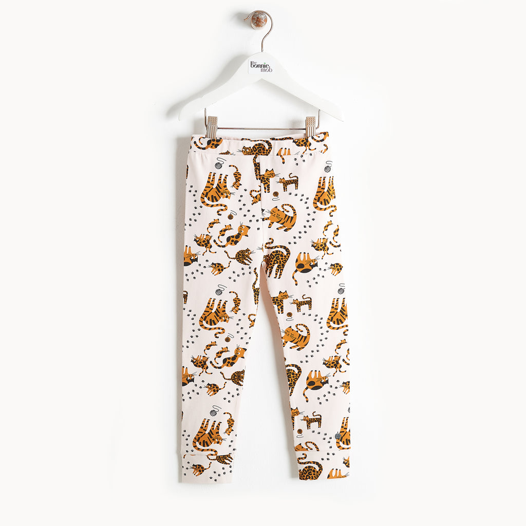 Bonnie Mob Kazam Organic Cotton Legging - Sand Cat