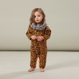 Bonnie Mob Honey Leopard Print Playsuit