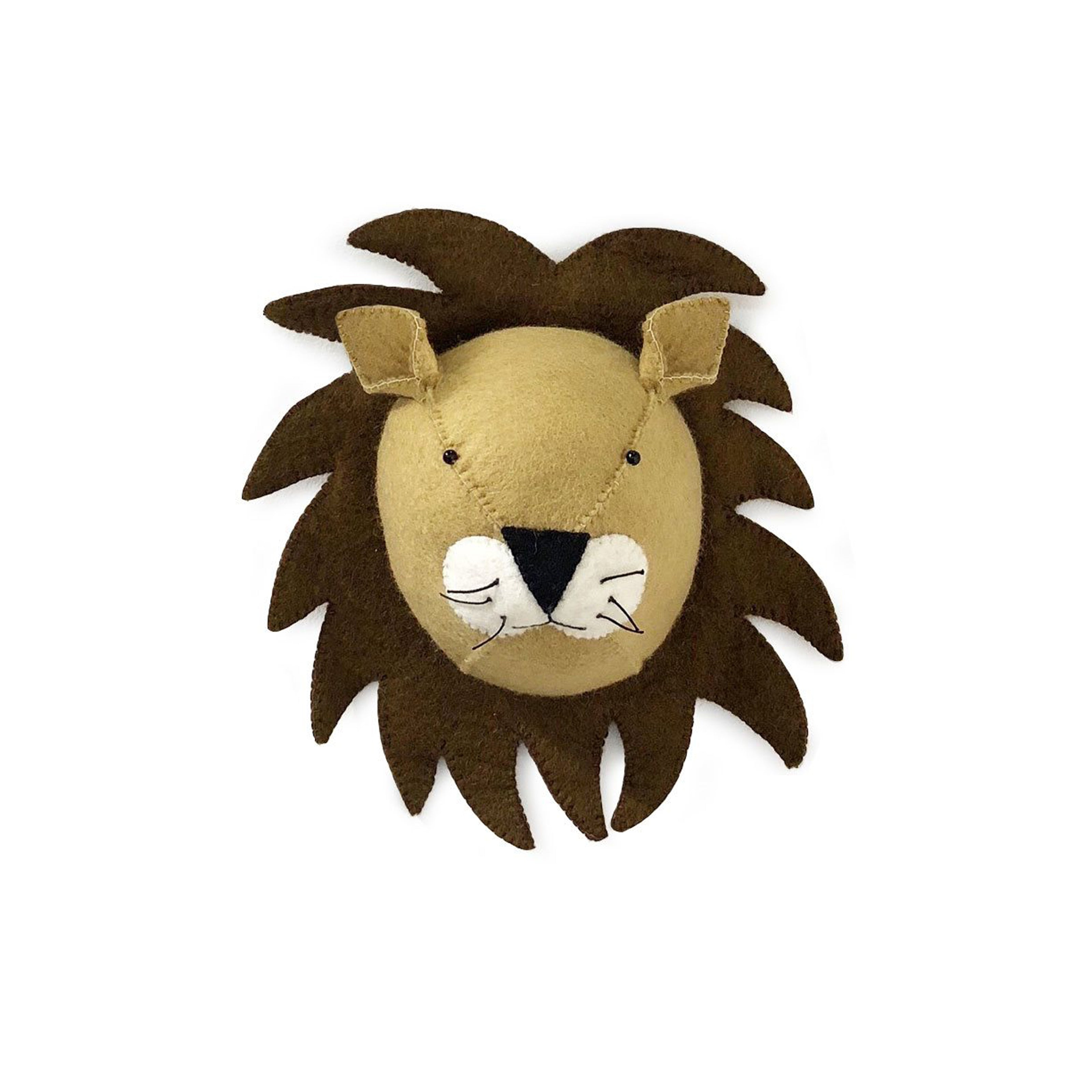 Gamcha Lion Head Wall Hanging