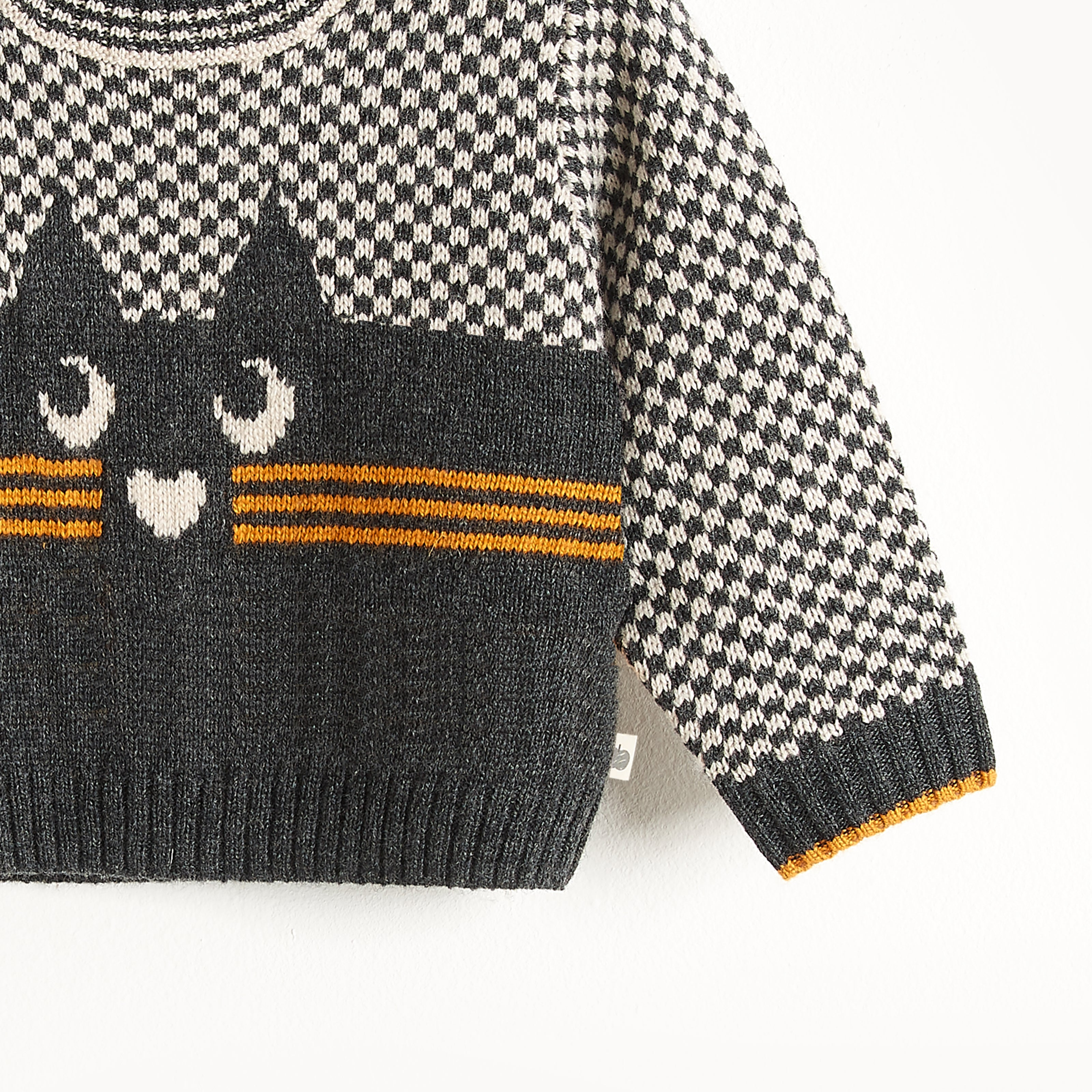 Bonnie Mob Mayfield Cat Intarsia Sweater