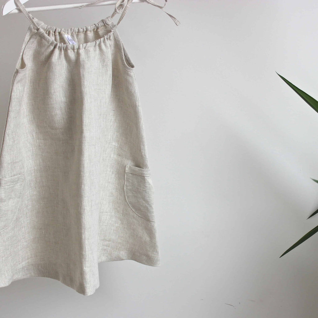 Freya Lillie Drawstring Pocket Linen Dress