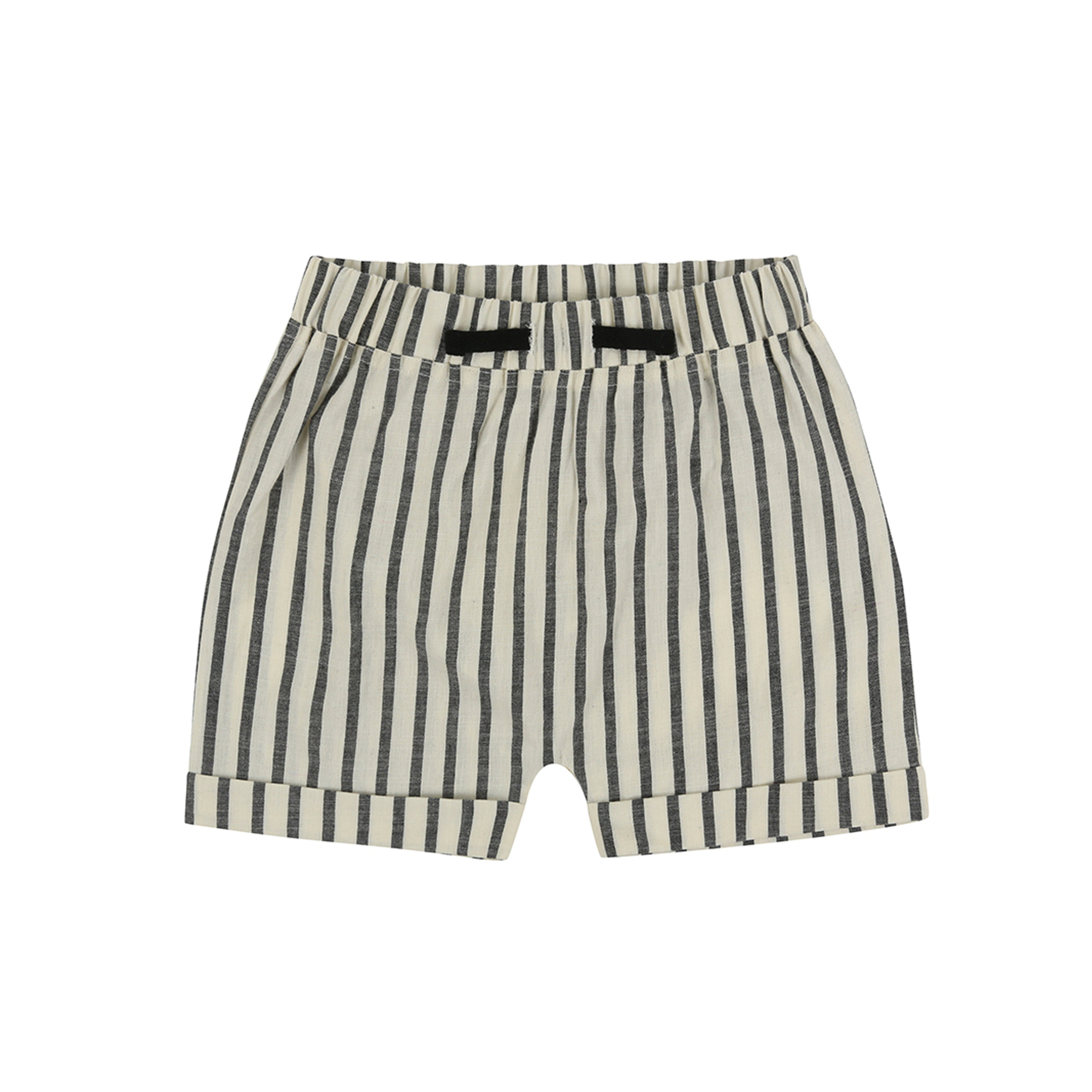 Turtledove London Woven Stripe Shorts