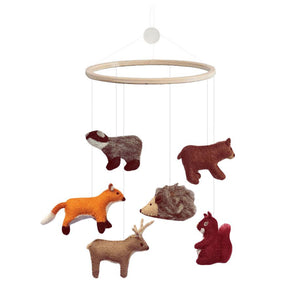 Gamcha Woodland Animal Mobile