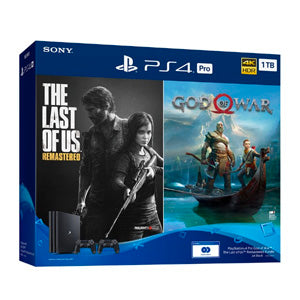 Sony PlayStation PS4 Pro 1 TB God of War + The Last of Us Remastered Bundle | Model: ASIA-00357