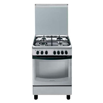 Ariston 60cm Cooking Range (4 Gas Burners, Electric Oven with Convection Fan) | Model: CX65SP1(X)