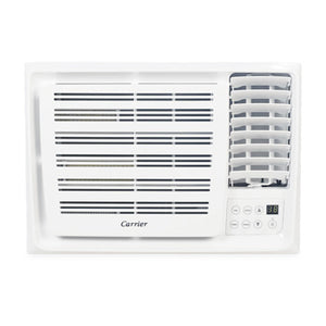 Carrier 1.0 HP Window Type Aircon with Remote Control (Side Discharge) | Model: WCARH010EE