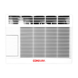 Condura 0.5 HP Window Type Aircon with 12-Hour Timer (Top Discharge) | Model: WCONZ006EC