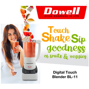 Dowell 1.5L Digital Touch Blender | Model: BL-11