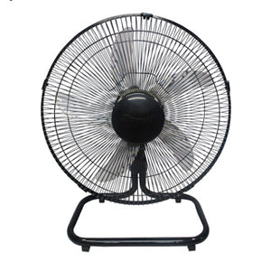 "Dowell 20"" 5-Leaf Banana Blade Ground Fan 