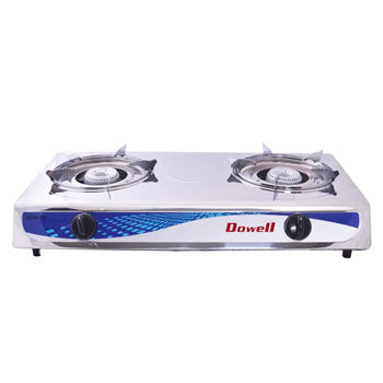 Dowell Double Burner Gas Stove | Model: SDB-16