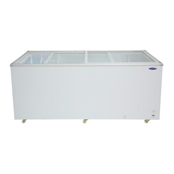 Fujidenzo 22 cu. ft. Sliding Glass Top Chest Freezer / Chiller (Dual Function) | Model: FD-22 ADF