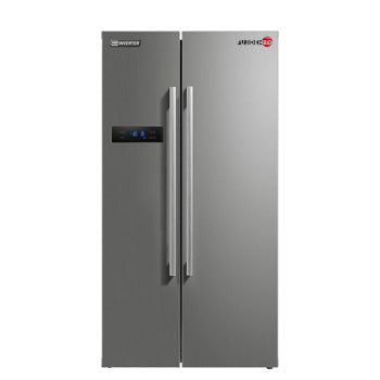 Fujidenzo 20.6 cu. ft. Side-by-Side HD Inverter Refrigerator | Model: ISR-20SS