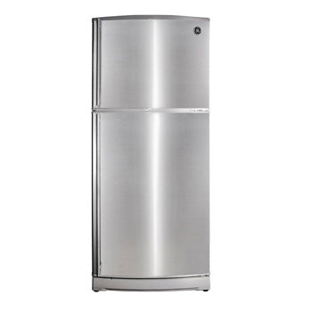 GE 15 cu. ft. Two Door No Frost Stainless Refrigerator | Model: GTV150ICYRBS