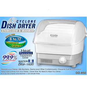 Imarflex Cyclone Dish Dryer, Sterilizer and Warmer | Model: DD-850