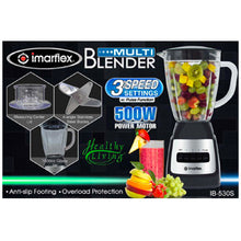 Load image into Gallery viewer, Imarflex 1.5L Multi Blender | Model: IB-530S