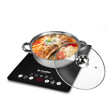Load image into Gallery viewer, Imarflex 24cm Single Burner Slim Type Induction Cooker | Model: IDX-1650S