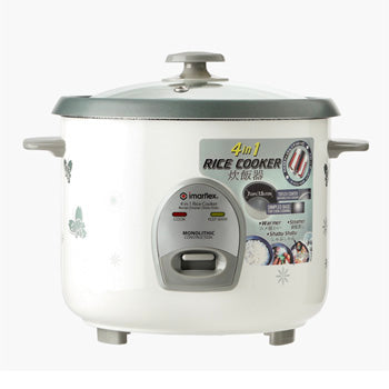 Imarflex 1.8L 10 cups 4-in-1 Rice Cooker | Model: IRC-18Q