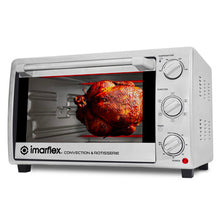 Load image into Gallery viewer, Imarflex 28L 3-in-1 Convection Oven & Rotisserie | Model: IT-281CRS