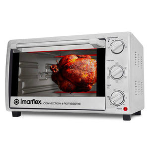 Imarflex 28L 3-in-1 Convection Oven & Rotisserie | Model: IT-281CRS