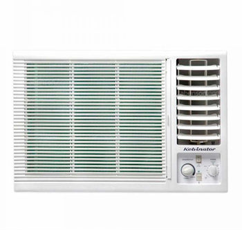 Kelvinator 1.5 HP Window Type Aircon with 12-Hour Mechanical Timer (Side Discharge) | Model: WKELH014EC