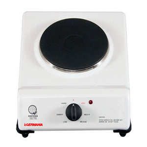 La Germania 8 cm Single Electric Stove | Model: E-108W