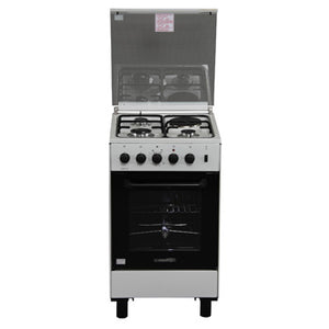 La Germania 50cm Cooking Range (3 Gas Burner, 1 Electric Hot Plate, Gas Thermostat Rotisserie Oven) | Model: FS531 30WR