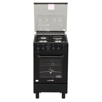 La Germania 50cm Cooking Range (3 Gas Burner, 1 Electric Hot Plate, Gas Thermostat Rotisserie Oven) | Model: FS531 30BR