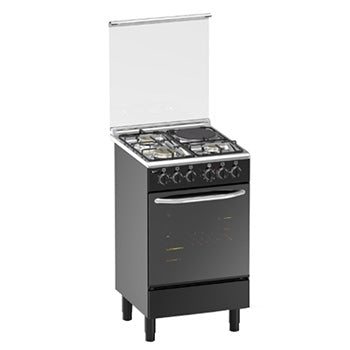 Markes 50cm Cooking Range (3 Gas Burner + 1 Electric Hot Plate, Gas Oven) | Model: MREB50