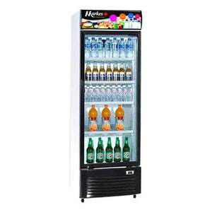 Markes 10.6 cu. ft. Upright Glass Chiller / Beverage Cooler | Model: MSR-300D