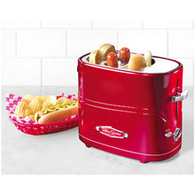 Load image into Gallery viewer, Nostalgia Electrics Retro Series Hotdog Pop Up Toaster | Model: HDT600