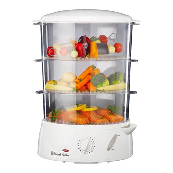 Russell Hobbs 3 Tier Food Steamer | Model: RH15071