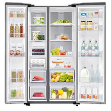 Load image into Gallery viewer, Samsung 24.7 cu. ft. Side by Side No Frost Inverter Refrigerator | Model: RS62R5031M9