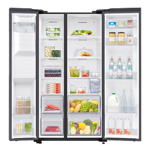 Samsung 23.9 cu. ft. Side by Side No Frost Inverter Refrigerator | Model: RS64R5301B4