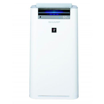 Sharp Plasmacluster Ion Air Purifier with HEPA Filter and Humidifier (38 sqm) | Model: KC-G50E-W