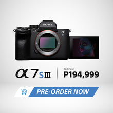 Load image into Gallery viewer, [PRE-ORDER] Sony Alpha A7S III with Pro Movie/Still Capability (Body Only) | Model: ILCE-7SM3