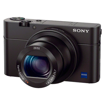 Sony RX100 III Advanced Camera with 13.2 x 8.8 mm sensor | Model: DSC-RX100M3/B
