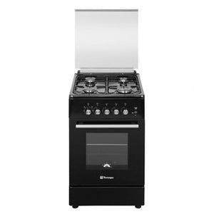 Tecnogas 50cm Cooking Range (4 Gas Burners, Gas Oven) | Model: TFG5540AB