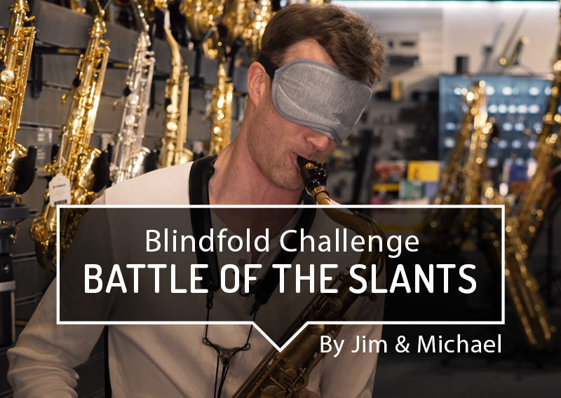 Blindfold Challenge - Battle of the Slants