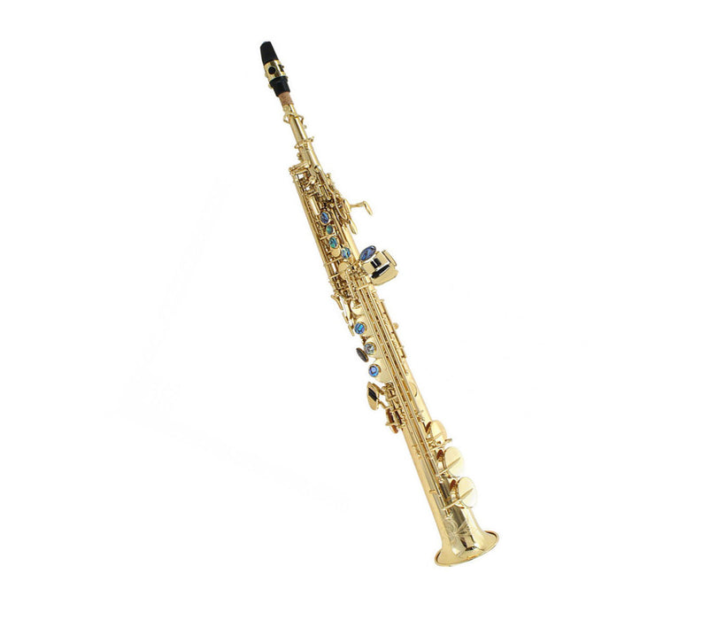 P Mauriat System 76 GL 2nd Edition Straight Soprano Sax - Gold Lacquer