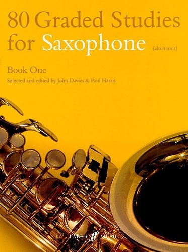 80 Graded Studies for Saxophone Book One (Alto/Tenor)