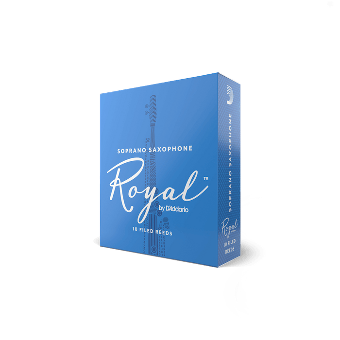 Royal by DAddario - Soprano Saxophone Reeds - Box of 10
