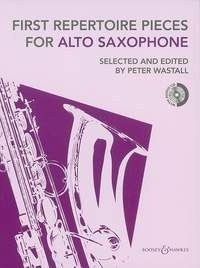 First Repertoire Pieces For Saxophone with CD - Peter Wastall