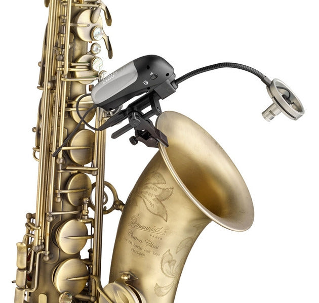 AMT Quantum 7 Wireless Saxophone Setup: Channel 38 (requires annual license)
