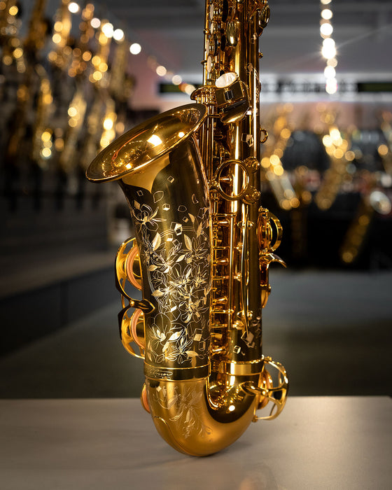 Selmer Paris Supreme Alto Saxophone - Gold Plated