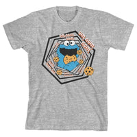 Sesame Street Shirt Youth Cookie Monster Apparel