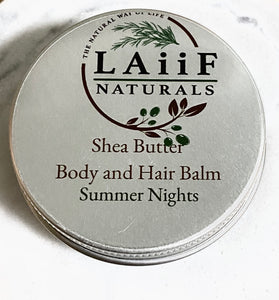 Summer Nights Shea Butter Moisturizing Hair & Body Balm
