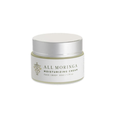 Natural Moringa Moisturizing Cream 50ml / 1.7fl oz - Green Goddess Entertaining