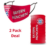 PACK Combo, Bayern Munich Mask with Adjustable Straps