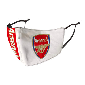 2 PACK Combo, Arsenal Face Mask with Adjustable Straps